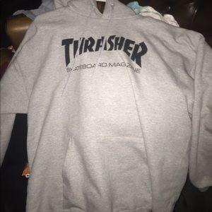 Gray Thrasher Sweater